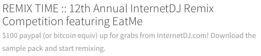 Remix Time EatMe