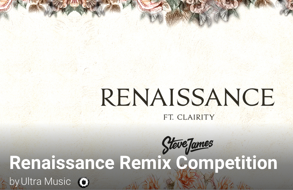 Steve James - Renaissance Remix Competition