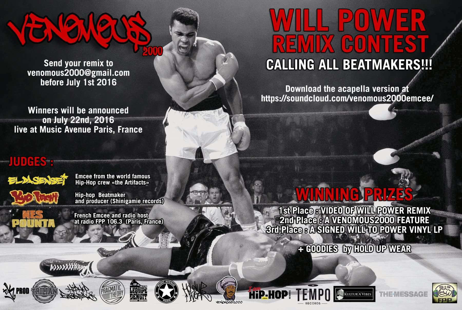 Remix Contest for WILL POWER