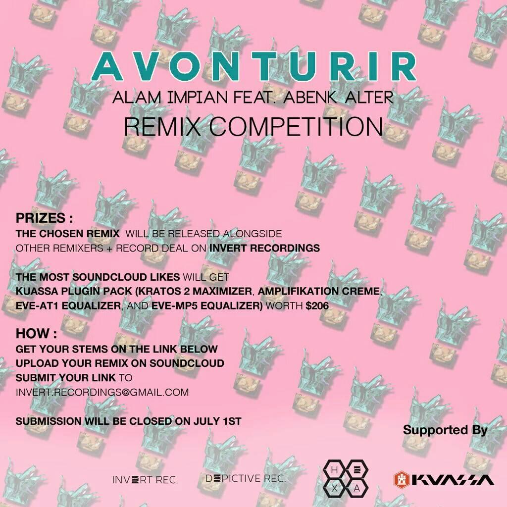 """Avonturir """"Alam Impian"""" Remix Competition"""