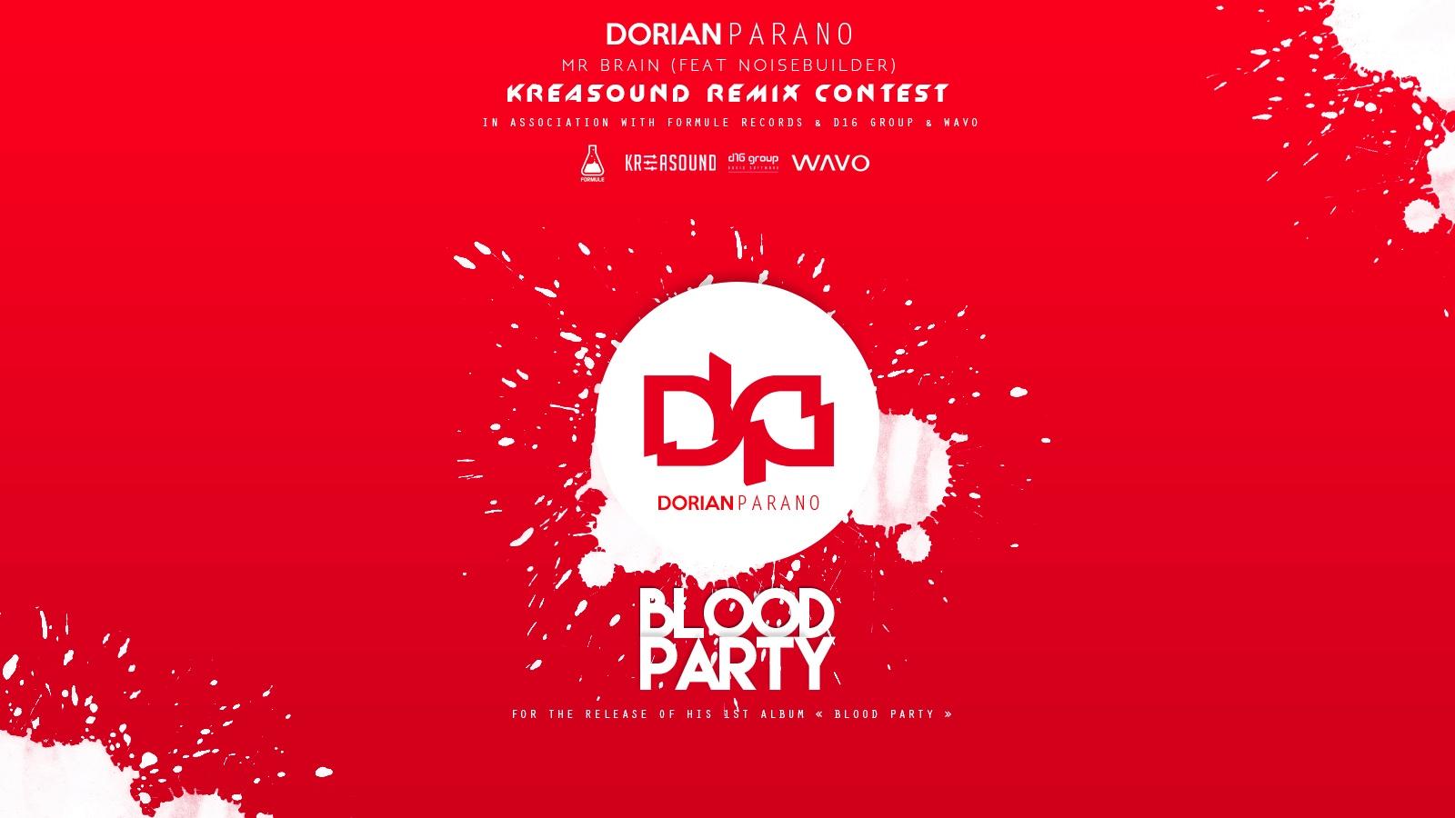Dorian Parano feat Noisebuilder Remix Competition