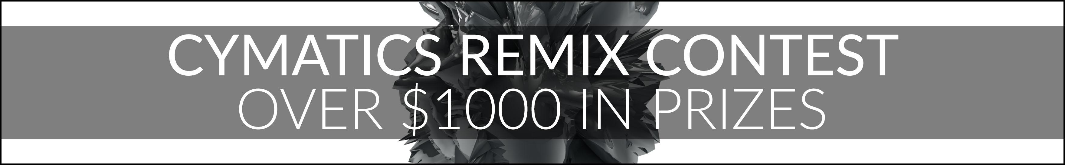 Cymatics Remix Contest