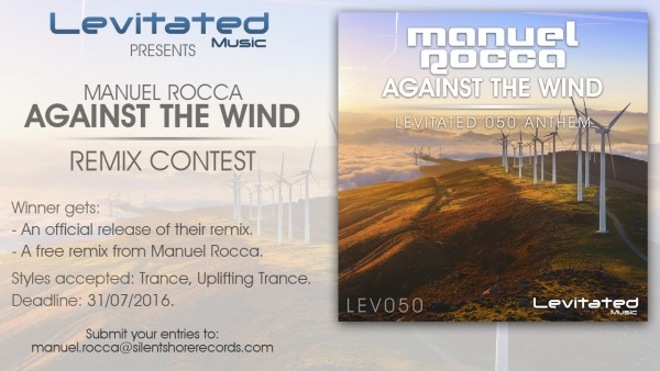 Remix Contest; Levitated Music and Manuel Rocca