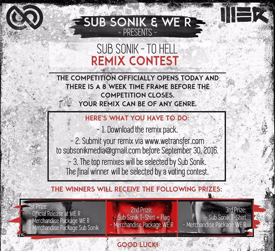 REMIX CONTEST SUB SONIK - TO HELL