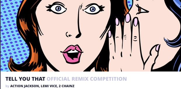 TELL YOU THAT OFFICIAL REMIX COMPETITION