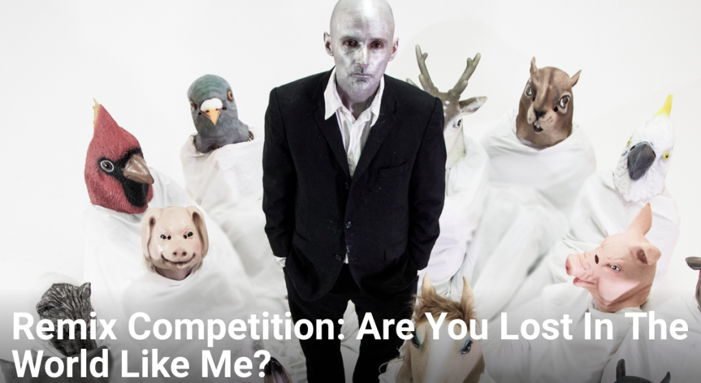 Remix Moby; Are You Lost In the World Like Me?