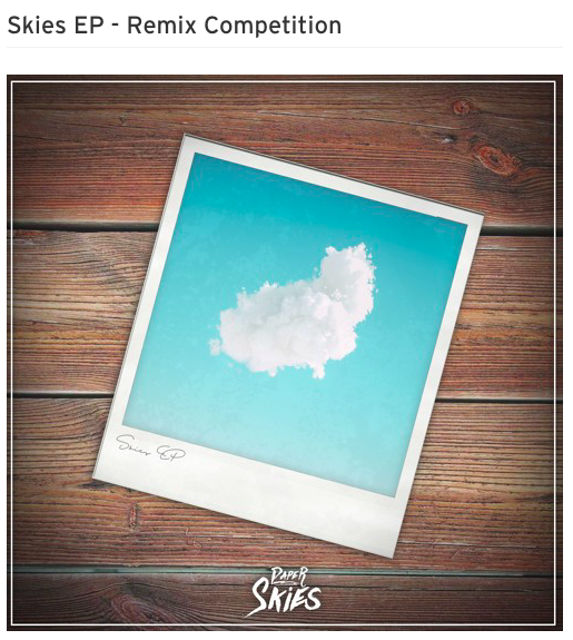 Paper Skies Remix Contest