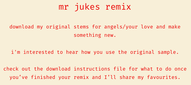 remix Mr Jukes