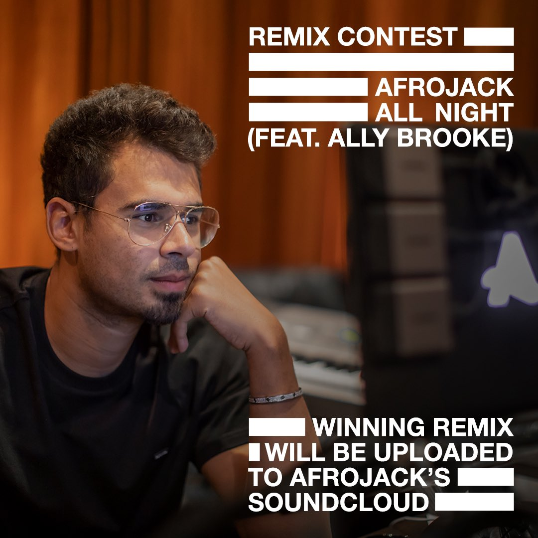 Remix Afrojack - All Night (feat.Ally Brooke)