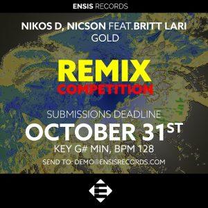 "Remix ""Gold"" by Nikos D, Nicson and Britt Lari"
