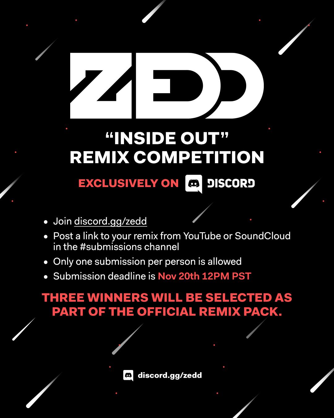 Zedd - 'Inside Out' Remix Contest